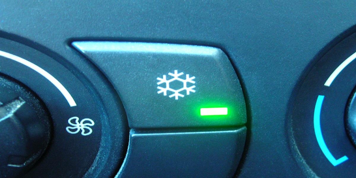 PKW-Klimaanlage-Schaltersymbol
